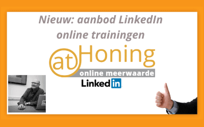 De eerste online trainingen nu verkrijgbaar!